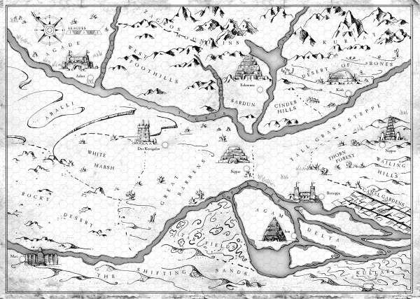 ancient mesopotamia map final BW