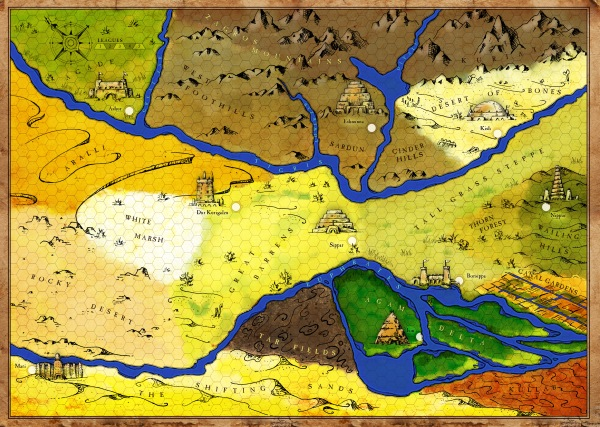 ancient mesopotamia map final color